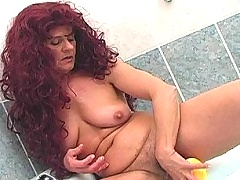 Horny cocklover matron fucking