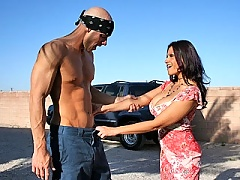 Big titted mature mom getting her tight hote screwed by monter dick