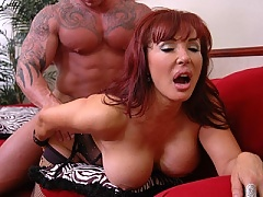 Busty latin milf getting pussy ripped hard