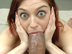 Mom gets slammed by thick black cock