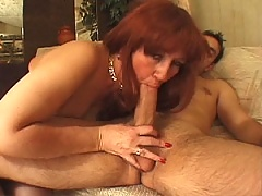 Mature MiLF gets her old wrinkled pussy pounded and rode