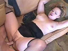 Thick cock pounds the shit out of this MiLF pussy