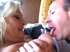 Filthy mom with big jugs gets hot anal