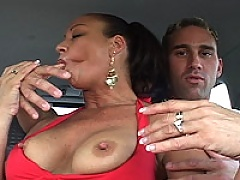 Vanessa In Red Gets Dick