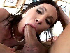 She moans and groans like a dirty, violated pig