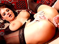 Kayla gets penetrated in her luscious pussy