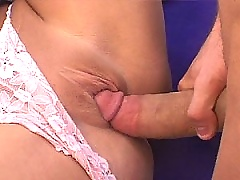 Massive cock rips apart this MiLF pussy