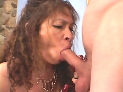 Mama spreads her pussy wide and gets pussy fucked